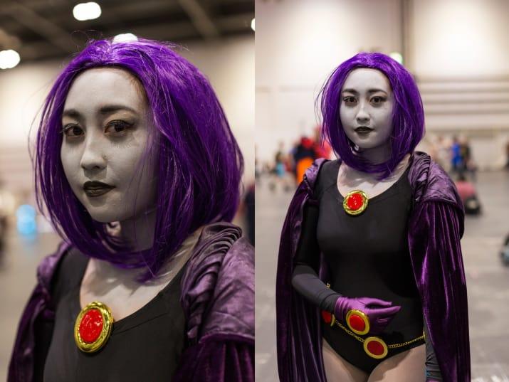 raven disfraz cosplay jóvenes titanes