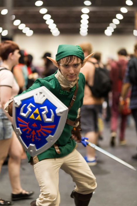 Link comicon convención cosplay