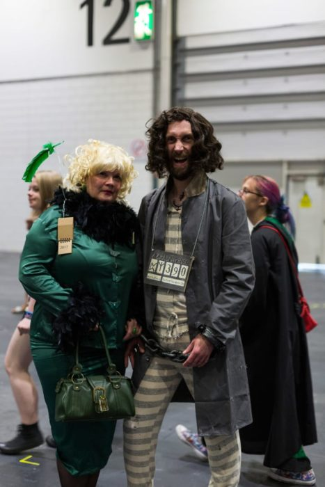 Sirius Black y Rita Skeeter Harry Potter cosplay