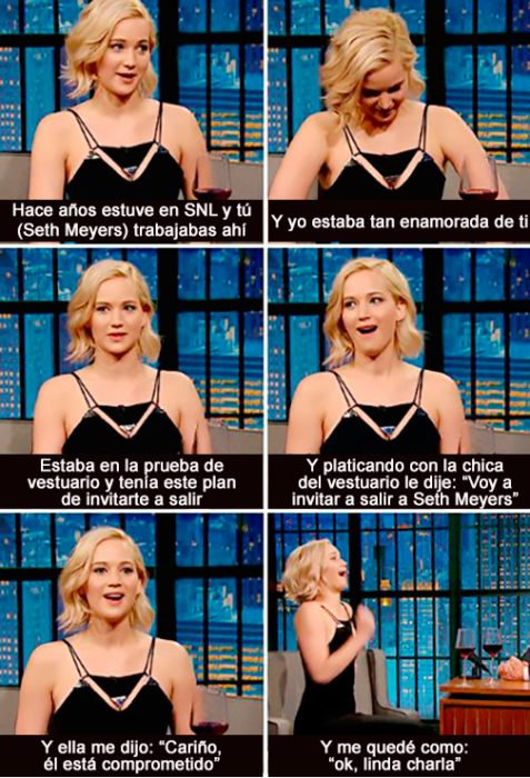 Historia crush Jennifer Lawrence