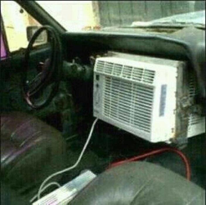 aire acondicionado carro viejo