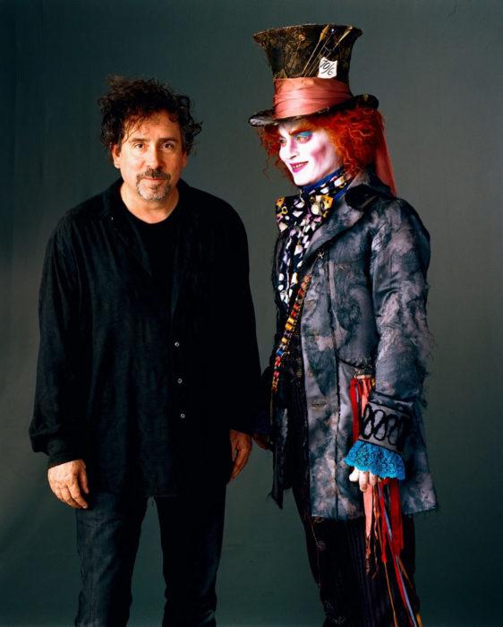 Ha colaborado en pelis de Tim Burton