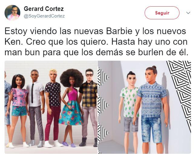 Nuevas Barbies y nuevos Ken