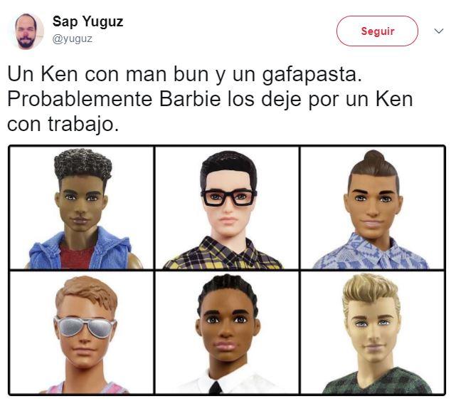Nuevos Ken hipsters