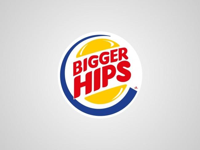 Logos honestos - bigger hips