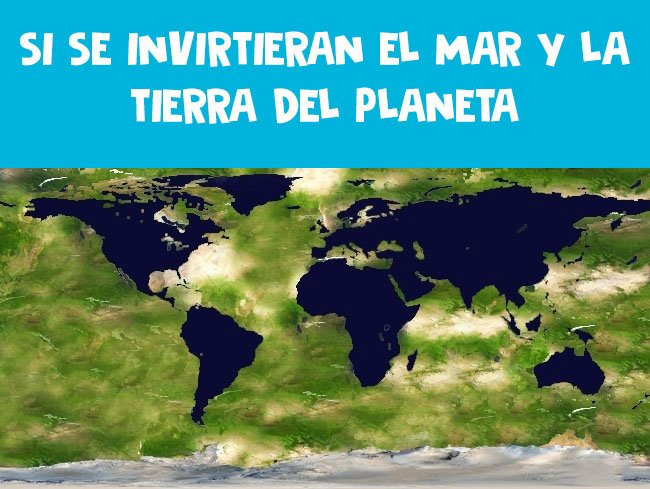 mar tierra invertidos planeta