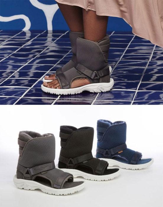 botas esquimal sandalias