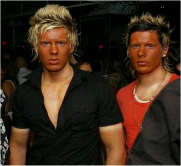 Se les pasó el maquillaje