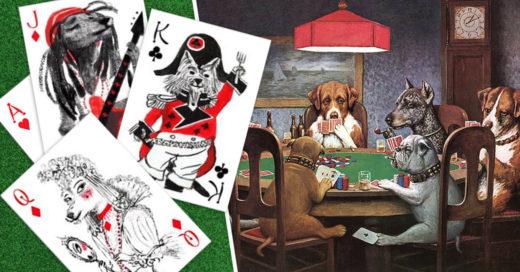 Cover Naipes con ilustraciones de perritos tan lindas que te desconcentrarán en el juego