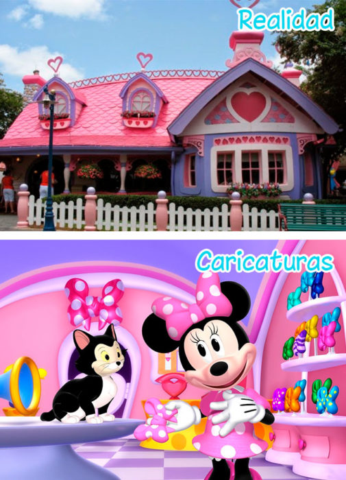 Casa de minnie mouse