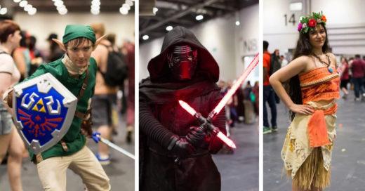 Cover Disfraces que volvieron locos a todos en la Comic Con de Londres este 2017