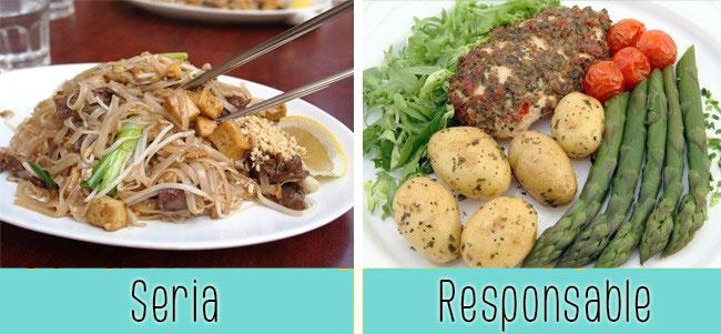 elegir comida