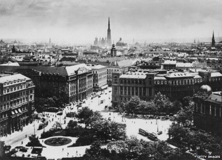 Viena Austria en 1913