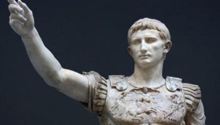 Estatuilla de Rómulo el último emperador romano