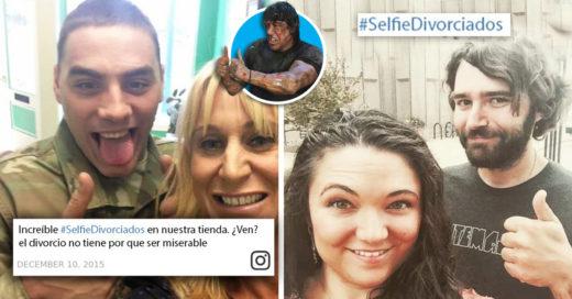 Cover Exparejas comparten sus felices selfies después de firmar su divorcio