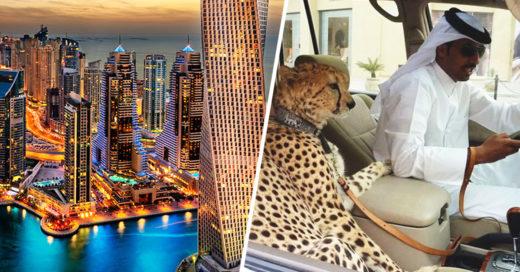 Cover Las excentricidades de Dubái en 17 lujosas imágenes