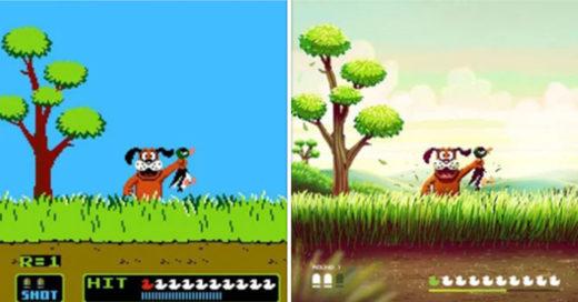 Cover Artista remasteriza escenas de viejos videojuegos
