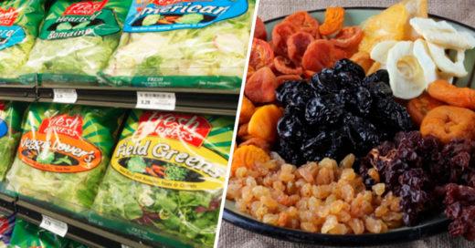 Cover alimentos que pretenden ser sanos