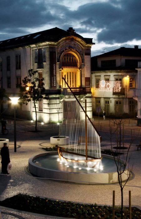 fuente del barco de agua en valencia