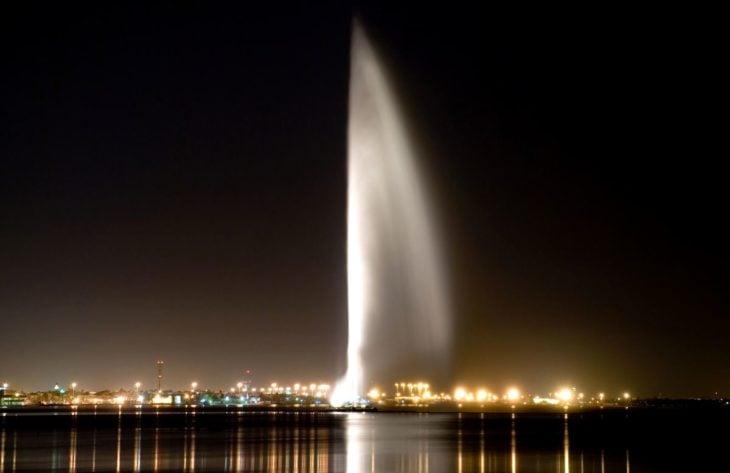 La fuente más alta del mundo ubicada en Arabia Saudita