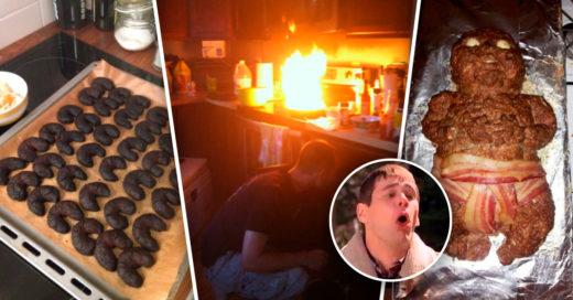 Cover intentos de chef que convirtieron su comida en un desastre