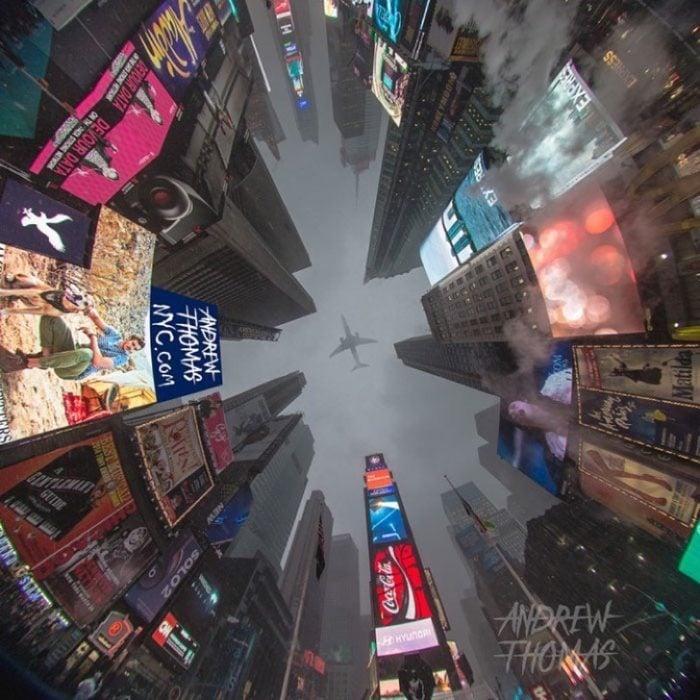 Time Square como nunca antes