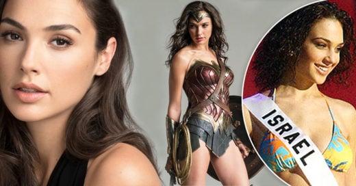 Cover Gal Gadot, de una tierna Miss Israel a la increíble Wonder Woman