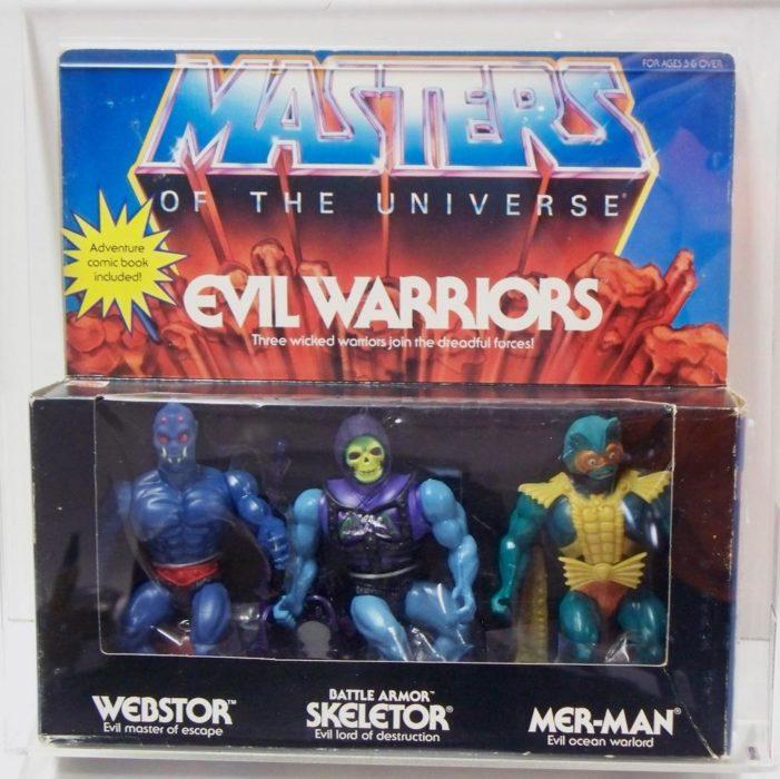 juguete clásico de los villanos de He-Man