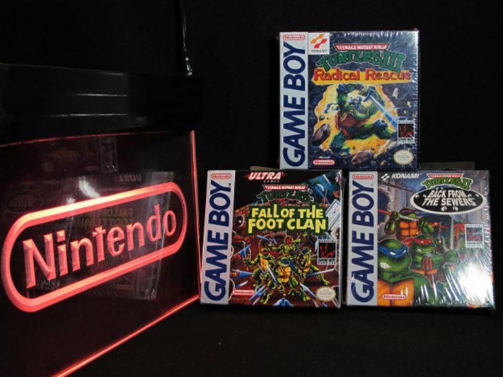 Colección de las 3 videojuegos de las tortugas ninja para Gameboy