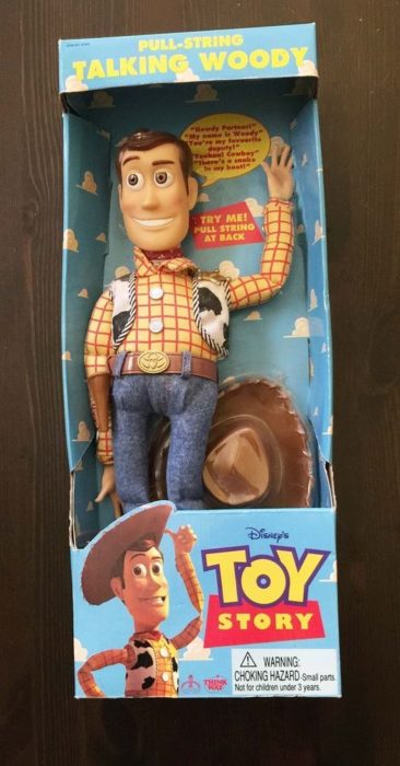 woody de toy story parlante