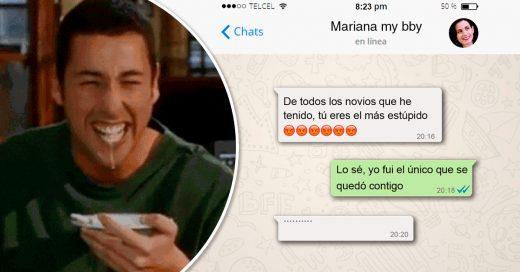 Cover mensajes de texto que solo las novias más locas enviarían