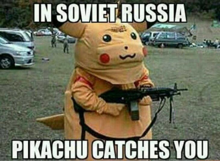 Pokemon GO pikachu rusia
