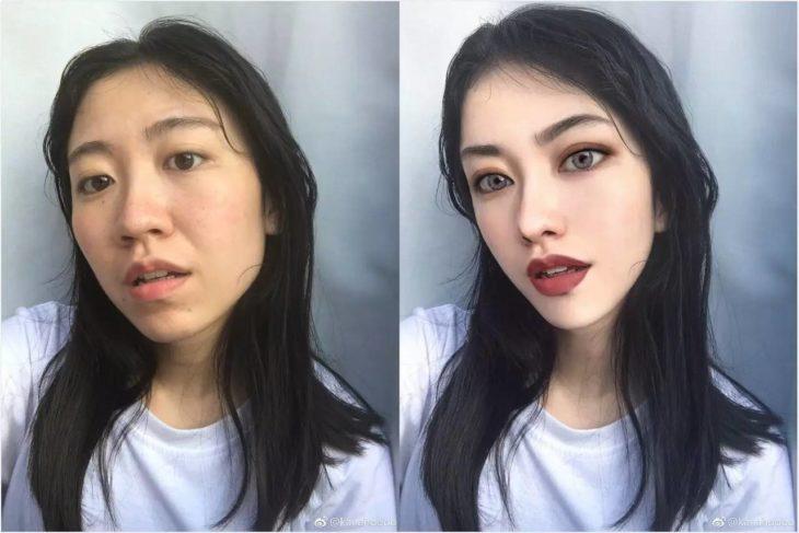 chica que no parece real instagram truco photoshop
