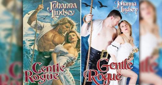 Cover Recrearon las portadas de NOVELAS ROMÁNTICAS y será lo más divertido que verás hoy