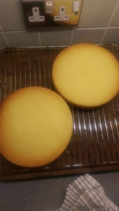 bizcocho perfecto pastel pan forma perfecta