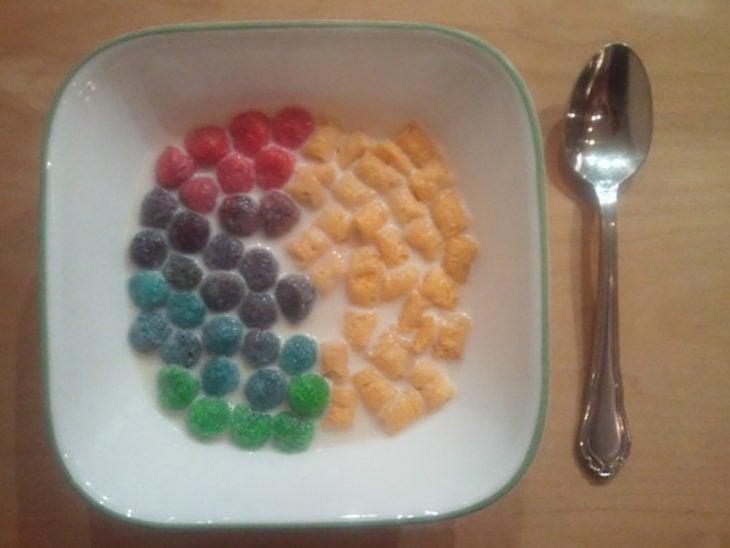 cereal dividido perfecto