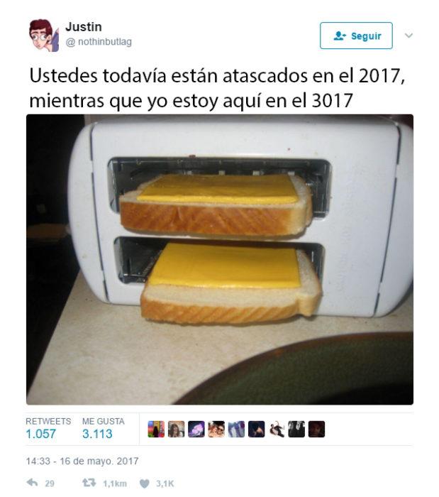Así se funde el queso