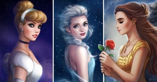 Cover Increíbles ilustraciones de tus favoritos de Disney