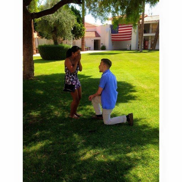 Matt y Laura propuesta de matrimonio