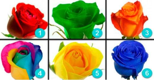 Cover Elige una rosa y descubre tu personalidad oculta