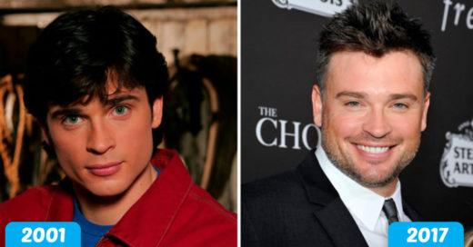 Cover Smallville: El antes y después de sus protagonistas