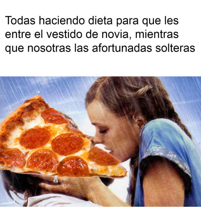 dieta pizza novia