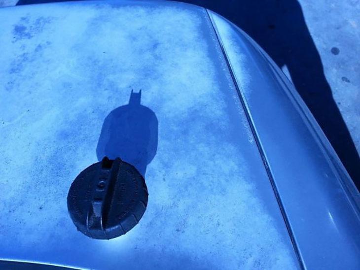 tapón que sombra forma a batman