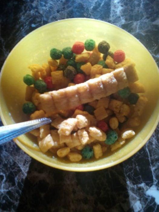 gran hojuela de cereal de desayuno