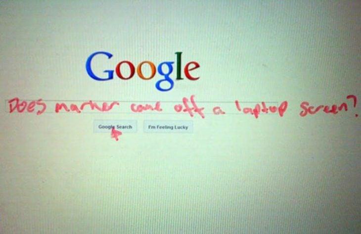 Mala búsqueda en google todo sale mal