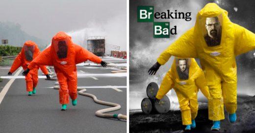 Cover Estos bomberos fue victima de una divertida batalla de Photoshop