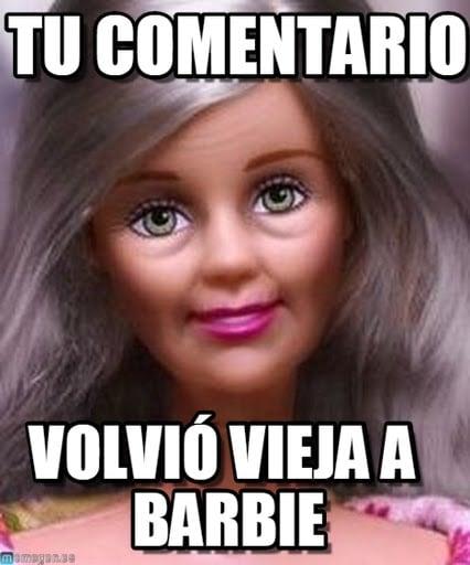 barbie vieja