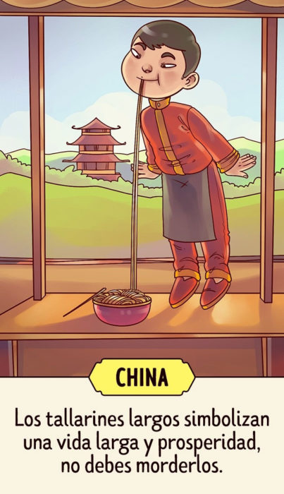 China Supersticiones del mundo ilustración
