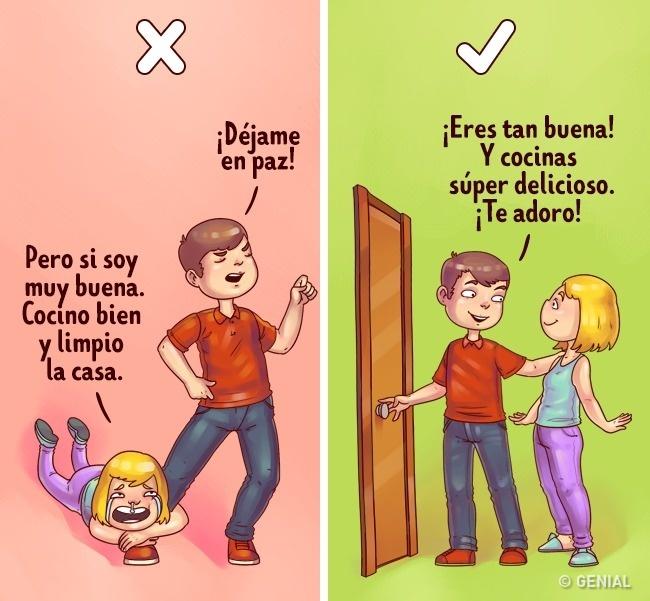 errores de conducta apego