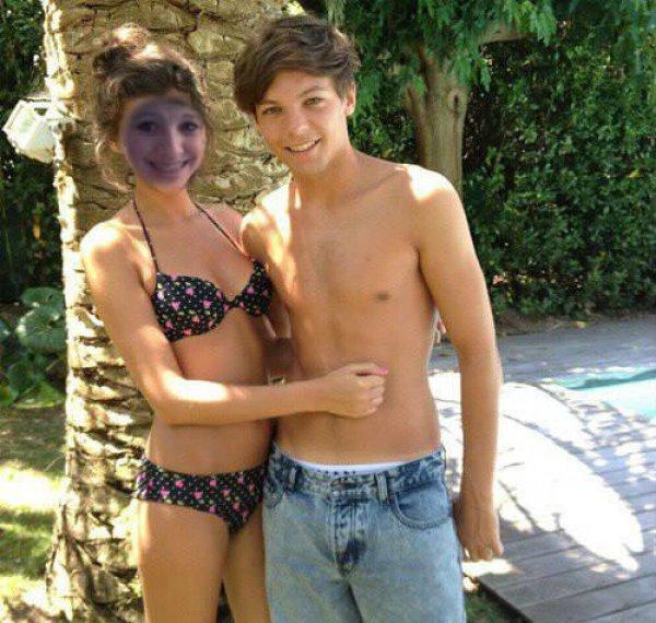 una foto con mi guapo novio